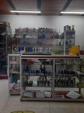 Vendo peluquería  venta de cosméticos