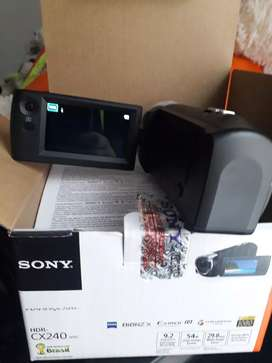 Camara Sony nueva HDR CX240 Negociable