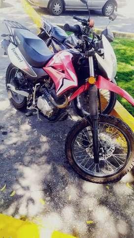 Cambio de moto honda por una pulzan 200cc