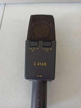 Micrófono de estudio  akg c414 b