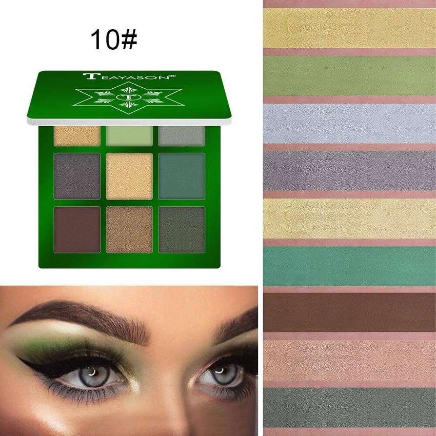 Paleta x 9 colores de larga duración impermeable/envió incluido gratis 0