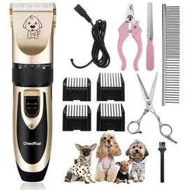 Máquina Digital Eléctrica Inalámbrico cortador de pelos para mascotas