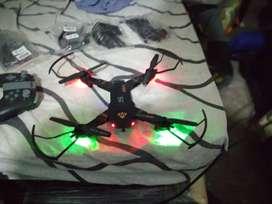 Dron con adcesorios