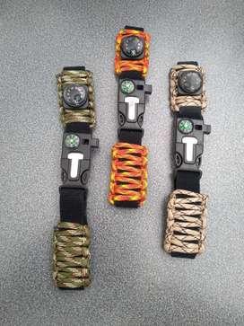 Pulsos Reloj Paracord Ajustables