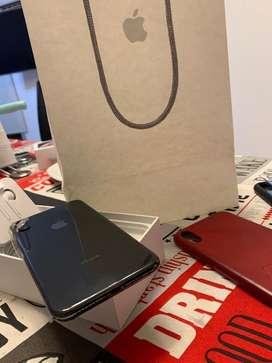 Liquido celular apple iphone xs max 64 gb igual a nuevo completo caja bolsa fundas