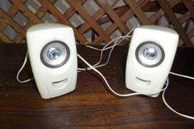 2 parlantes para computadora