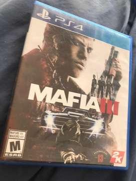 Mafia 3 ps4 excelente estado con mapa completo