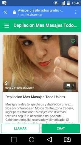 Depilacion Unisex