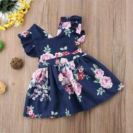 Vestido para Niña de Flores