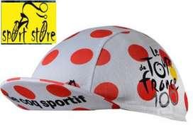 gorra de ciclismo GORRA cicla control uv LE TOUR FRANCIA montaña sc