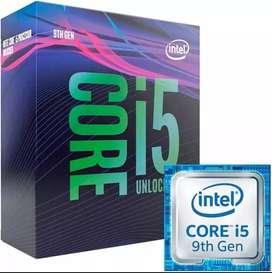 i5 9600k 3 meses de uso, no permuto