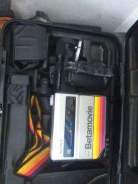 Video camara en betamovie ref bmc 100 para coleccionistas Sony