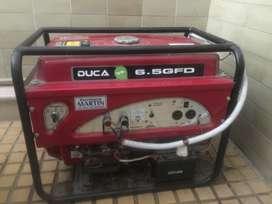 Generador, grupo electrogeno de alta calidad. Marca duca, motor honda