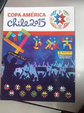 Album Copa América Chile 2015 + Laminas completas para pegar