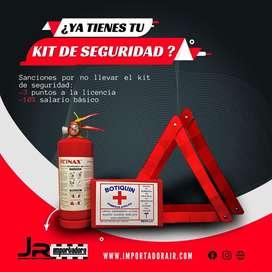 Kit de seguridad primeros auxilios