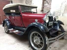 FORD A 1929 DOBLE PAHETON ## T I T U L A R !