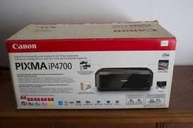 Impresora Canon Pixma Ip 4700 Con Sistema Continuo Impecable