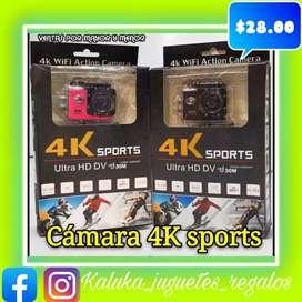 Cámaras GO PRO 4k y 1080p