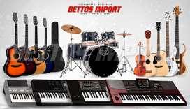 INSTRUMENTOS MUSICALES (Piano, Teclado, Batería, Guitarra, Bajo, Ukulel, Violín, Saxo, Trompeta, Bongó, Timbales, Tumba)