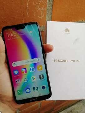 Huawei P20 Lite 32gb almacenamiento 4gb de Ram Como nuevo Con su caja y cargador