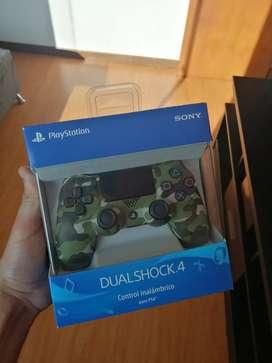 Control PS4 Camuflado Original