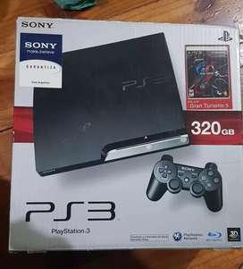 PS3 320GB + 4 JUEGOS