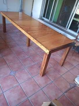 Mesa Ideal para Quincho