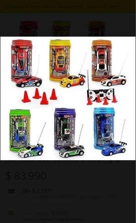 Carro Control Remoto Mini RC Coke
