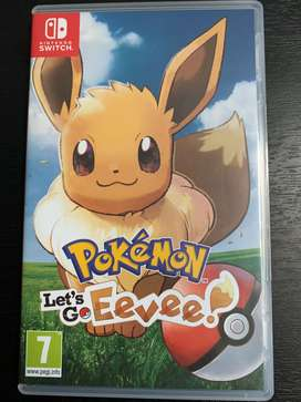 Pokemon Let's Go Eevee Nintendo Switch