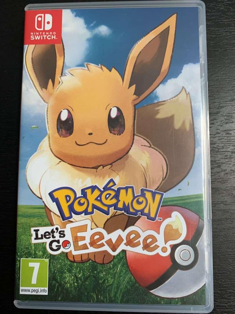 Pokemon Let's Go Eevee Nintendo Switch 0