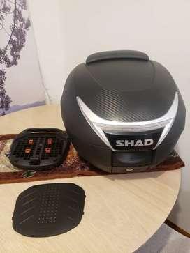 Maletero Shad SH34 con base y espaldar
