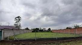 Vendo terreno Plano vía a Pintag  680 metros