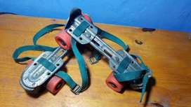 Patines Extensibles De Metal Con Frenos, 4
