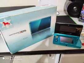 Nintendo 3DS Azul + 3 Juegos