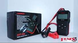 scanner baterías automotriz LAUNCH BST560 12 y 24 voltios