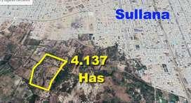 Vendo Terreno de 40,000 M2 en Sullana