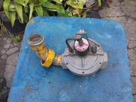 valvula de gas de pulgada y media