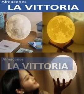 Lampara Luna con Soporte