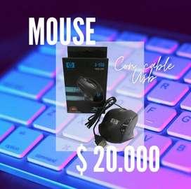 MOUSE USB SENCILLO HP
