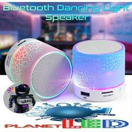 Mini Parlante Bluetooth Led Manos Libres Microsd y  Aux