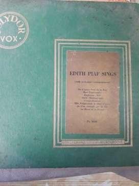 Edith Plaf Sing Vinilo