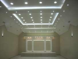 Drywall en huaraz divisiones,cielorrasos,electricidad,estructuras metalicas de techos