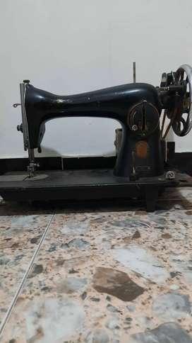 Máquina de coser Singer antigua estado 9/10