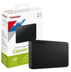 Disco duro 1 tera Externo Toshiba Usb
