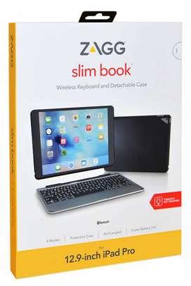 "Estuche Con Teclado Zagg Slimbook @ iPad Pro 12.9 "" 2015 2017"