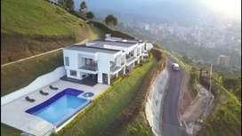 Casa en Envigado el trianón parte alta excelente panorámica