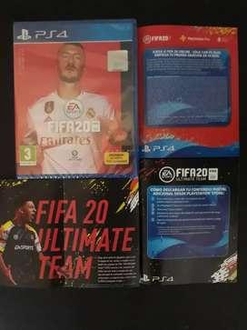 FIFA 20 Ps4 Físico Sellado Original con Códigos Extras Gratis