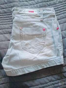 Shorts de jean Scombro