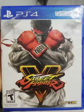 Street Fighter V usado