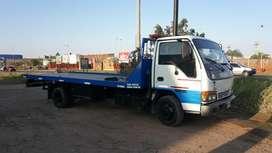 Camion auxilio ISUZU Npr Motor nuevo Cubiertas nuevas